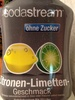 Sirop Citron vert SodaStream - Produit