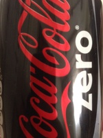 coca cola zero - Produit - en