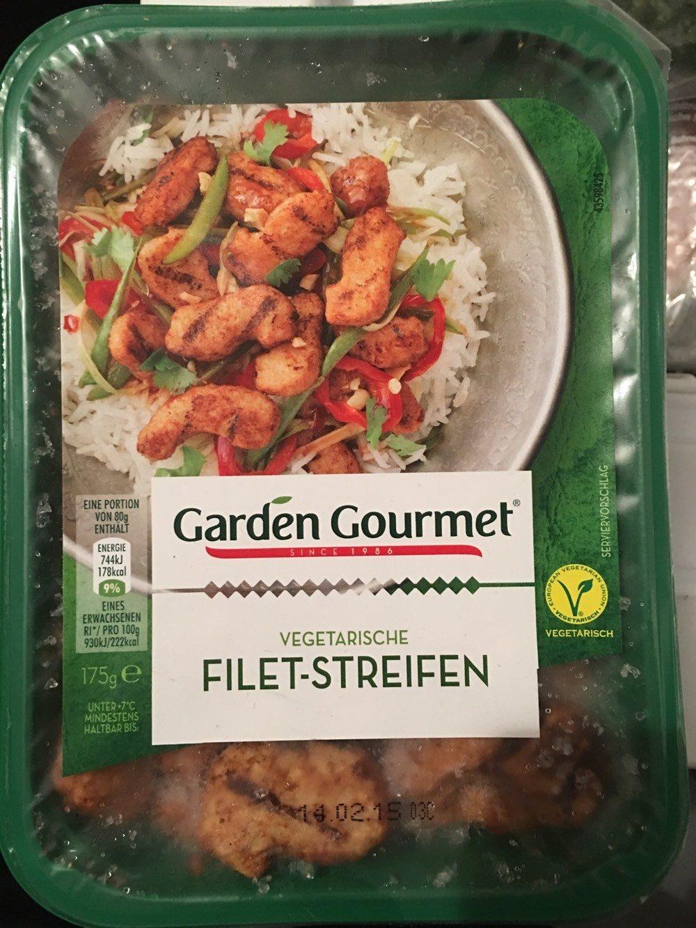 Vegetarische Filet-Streifen - Produkt