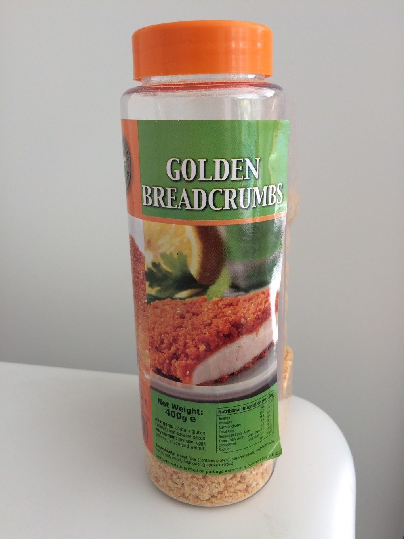 Golden bread crumbs - Produit - fr