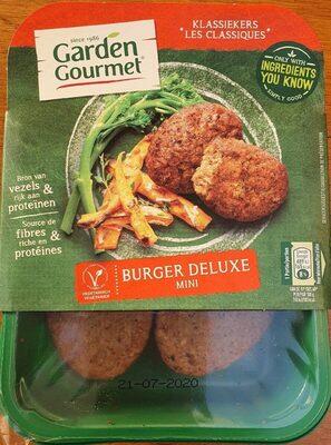Burger deluxe mini (végétarien) - Product - fr