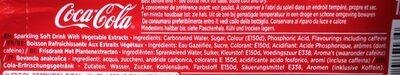 Coca-Cola Classic - Ingrédients