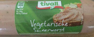 Vegetarische smeerworst - Product - nl
