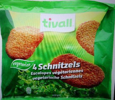 Tivall Vegetarian 4 Schnitzels - Produit - fr