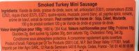 Mini Kabanos 200 GR GLATT HALAT - Ingrédients - fr