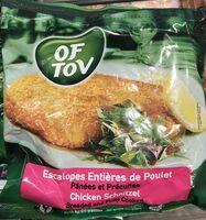 Chicken Schnitzel - Produit - fr