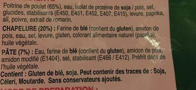 Chicken Schnitzel - Ingrédients - fr