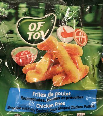 Frites de poulet - Produit - fr