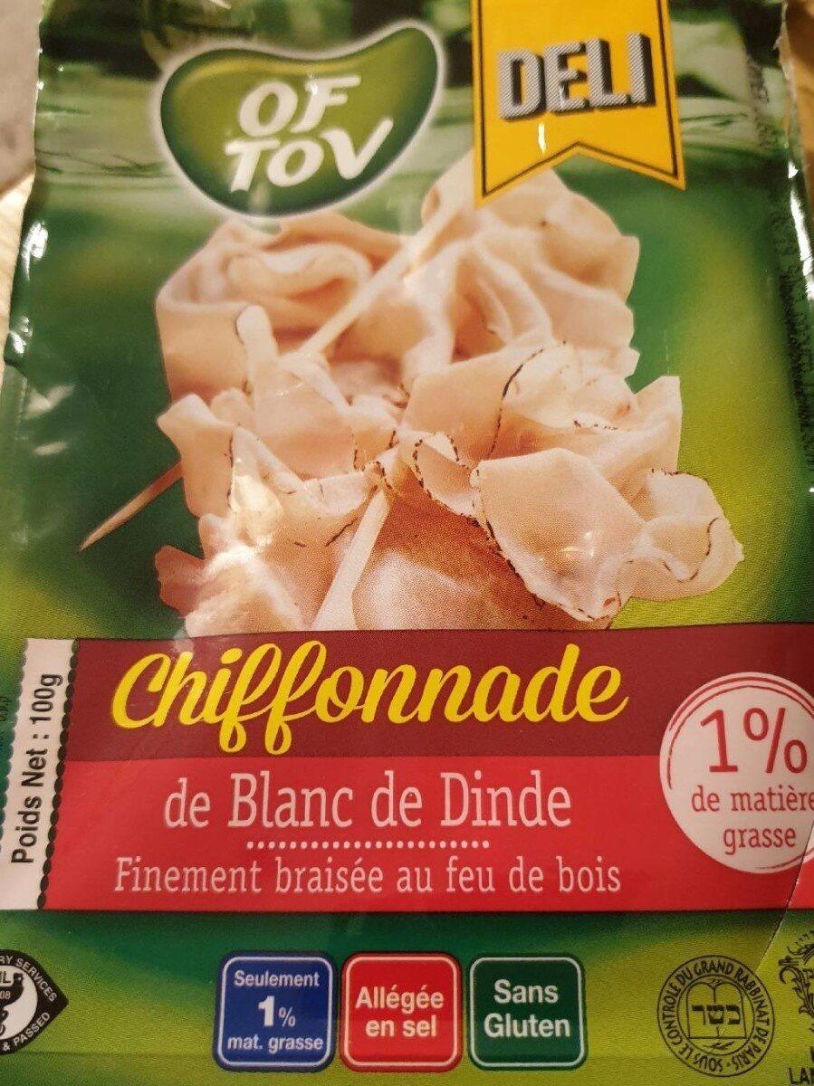 Chiffonnade de blanc de dinde - Produit - fr