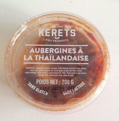 Aubergines à la thaïlandaise - Product