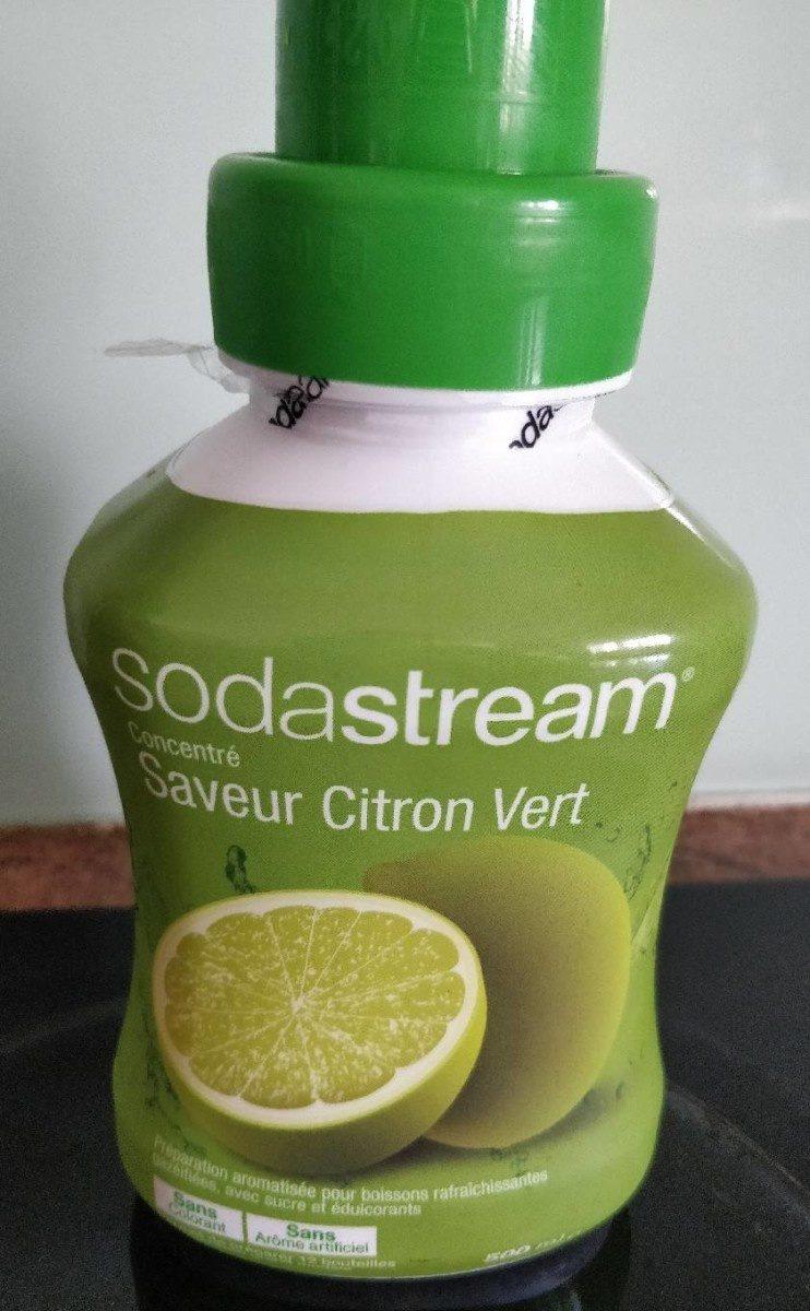 Concentré saveur Citron vert - Produit - fr