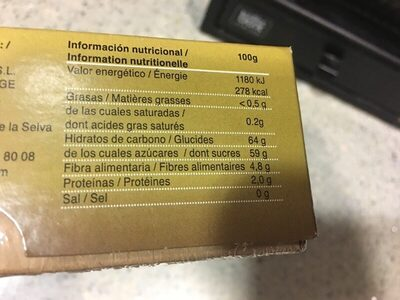 King Solomon Dates Medjool Dates naturelles - Nutrition facts