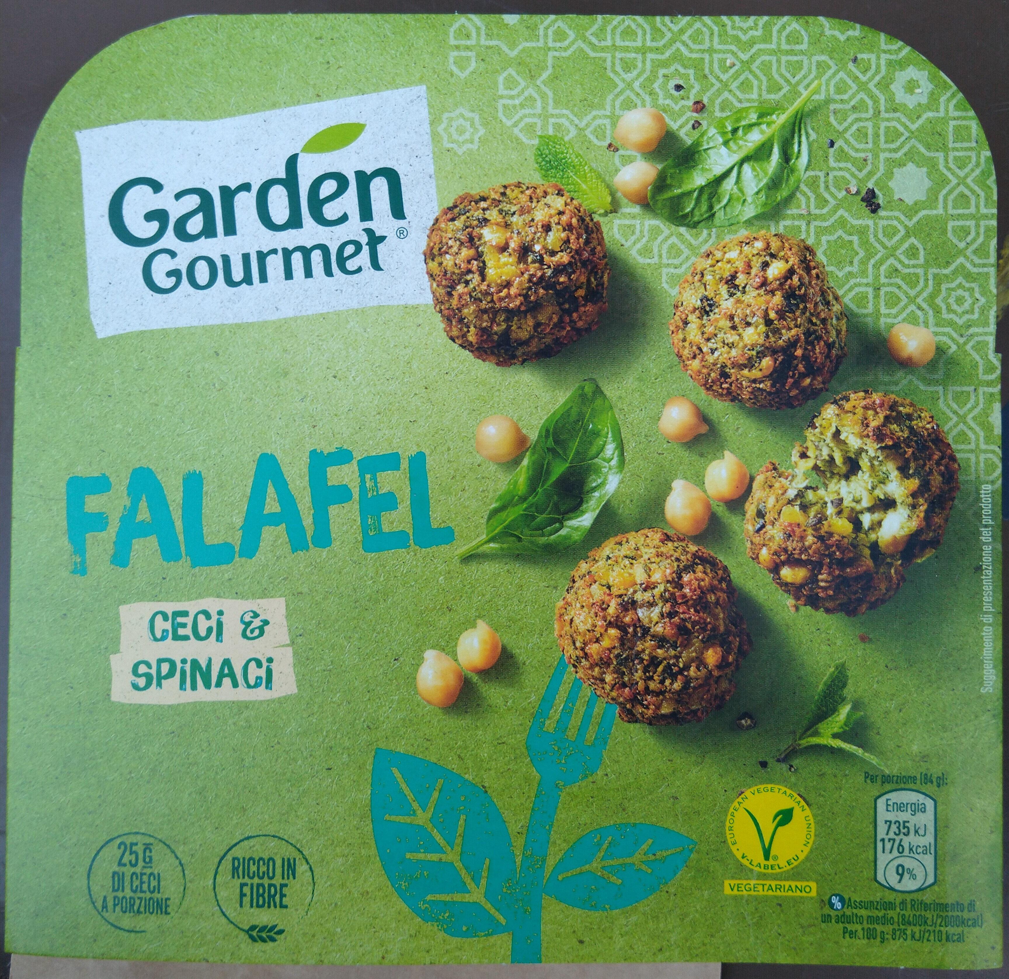 Falafel ceci e spinaci - Product - it