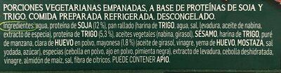 Nuggets vegetarianos - Ingredientes