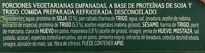 Nuggets vegetarianos - Ingrédients