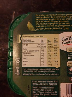 Spinazie-kaas rondo - Ingrediënten