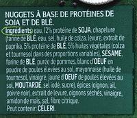 Nuggets - Ingrediënten - fr