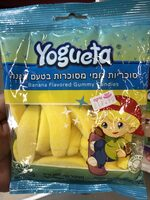 Banana Flavored Gummy Candies - Product - en