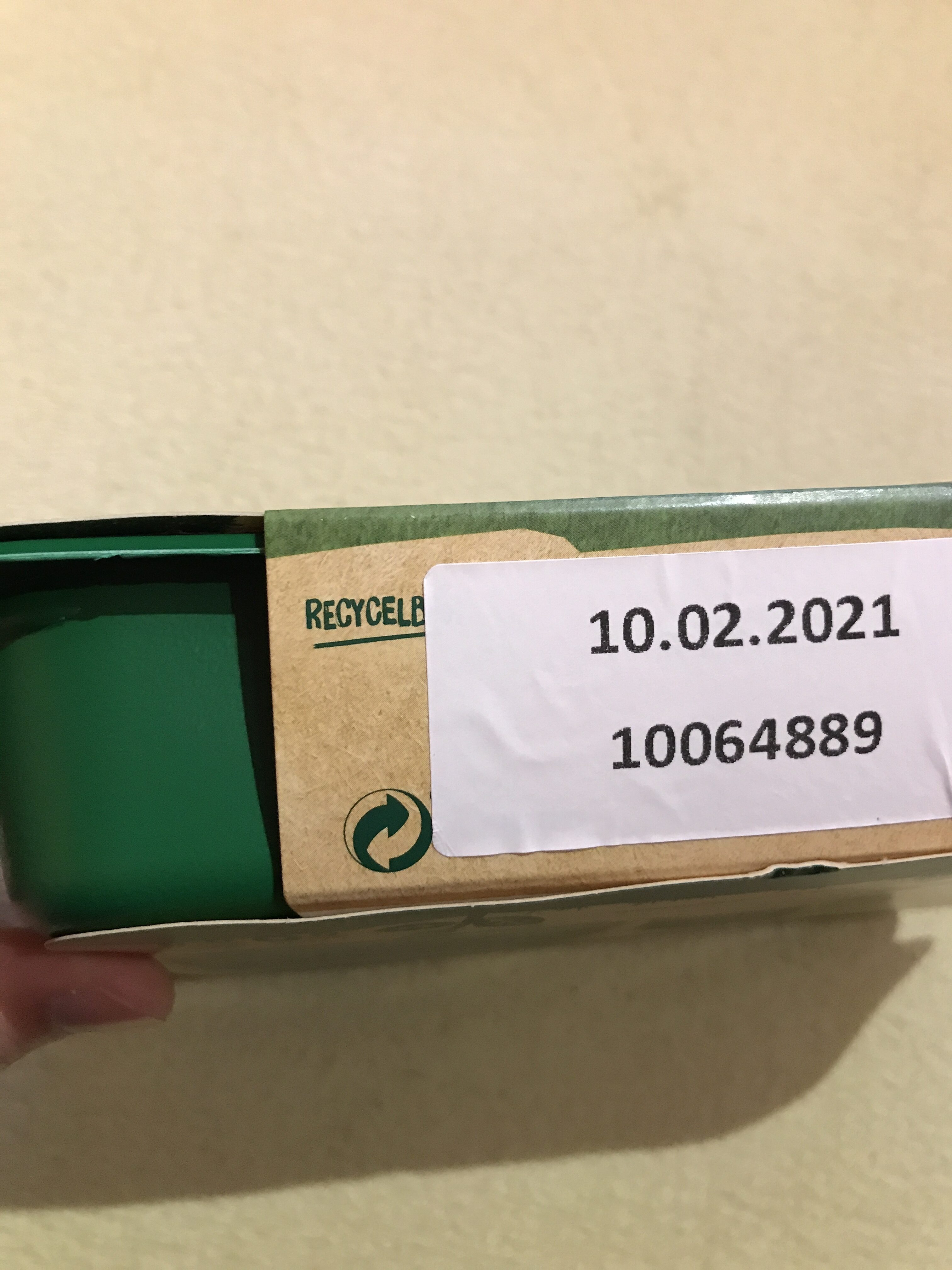 Vegane Filet-Stücken - Recyclinginstructies en / of verpakkingsinformatie - de