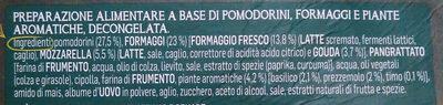 Crocchetta Mediterranea - Ingrediënten