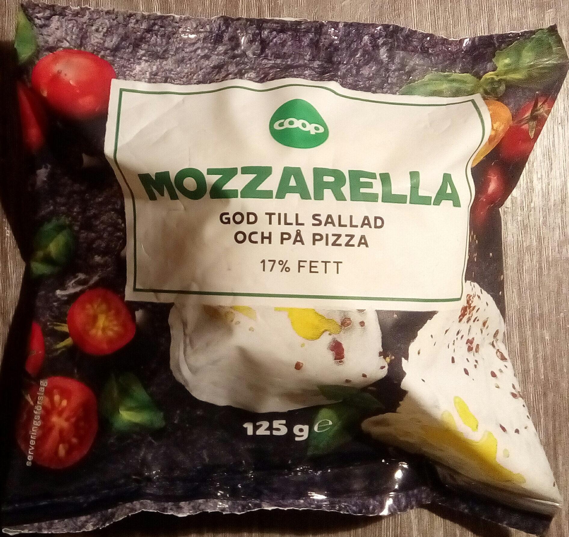 Coop Mozzarella - Produit - sv