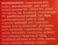 Coop Dagens pasta Bolognese - Ingredients