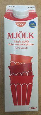 Coop Mjölk - Produit - sv