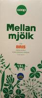 Coop Mellanmjölk - Produit - sv