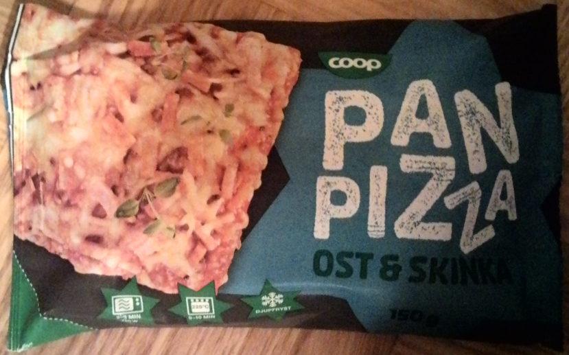 Coop Pan Pizza Ost & Skinka - Produit - sv