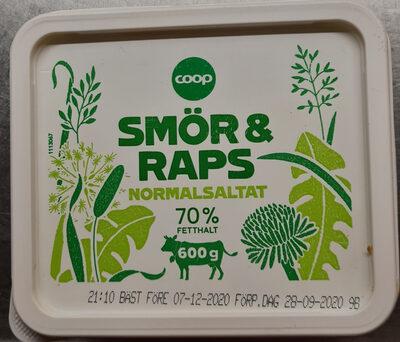 Smör & Raps Normalsaltat - Product - sv