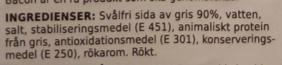 - Ingrédients - sv