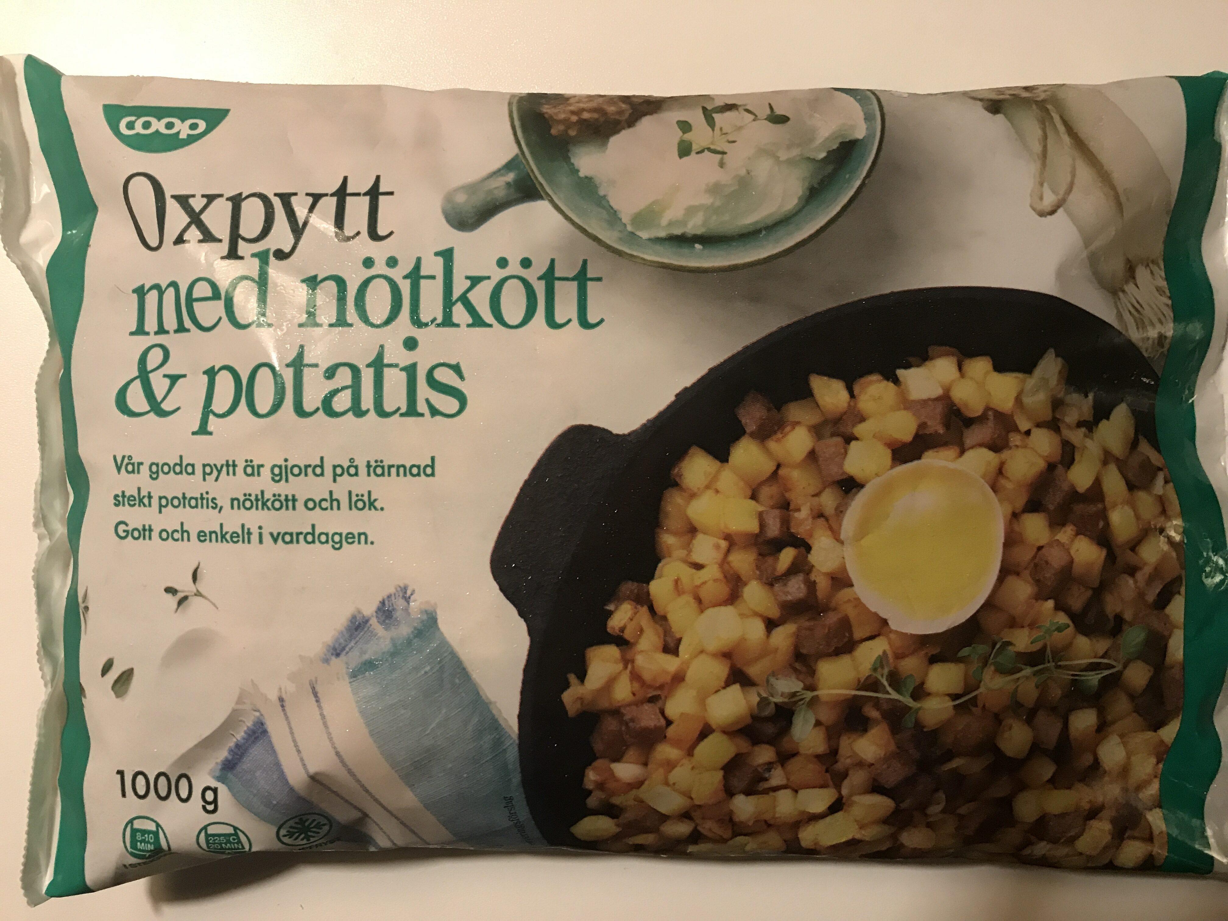 Coop Oxpytt med nötkött & potatis - Produit - sv