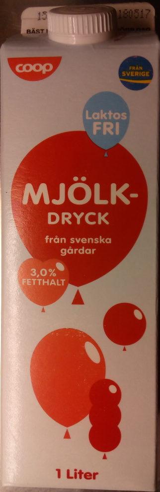Coop Laktosfri mjölkdryck - Product