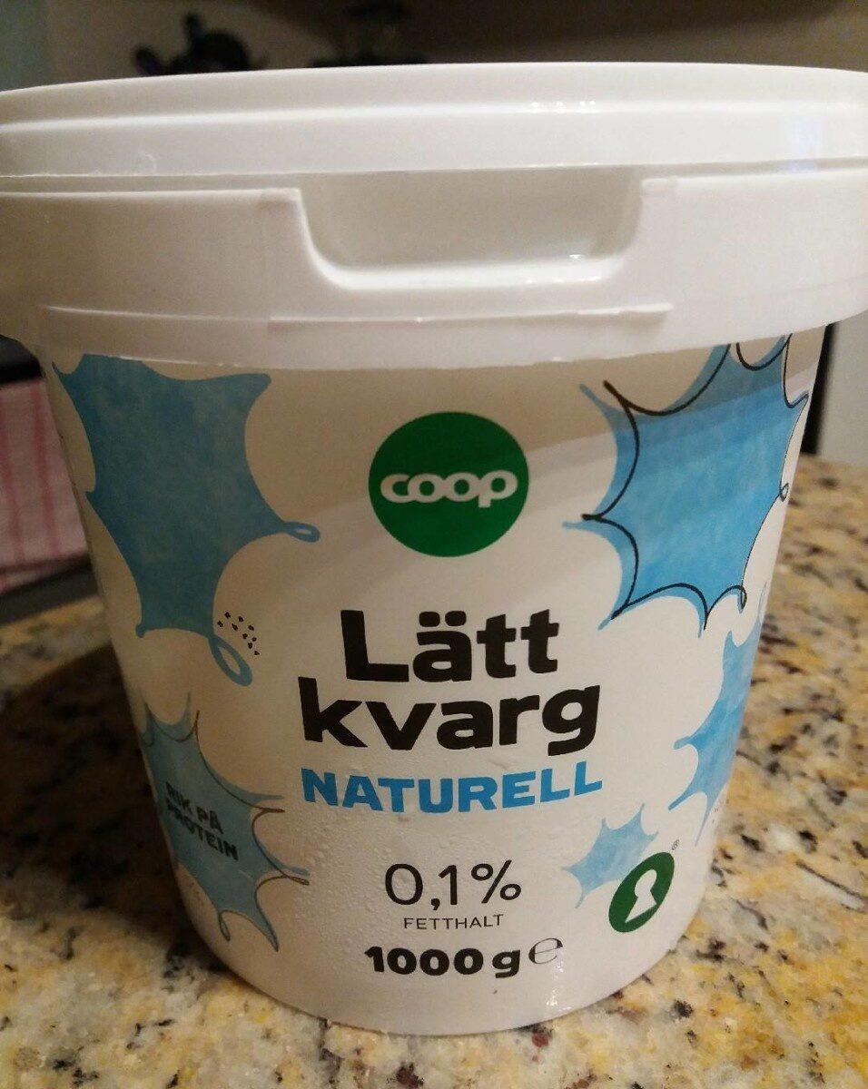 Lätt Kvarg Naturell - Produit - sv