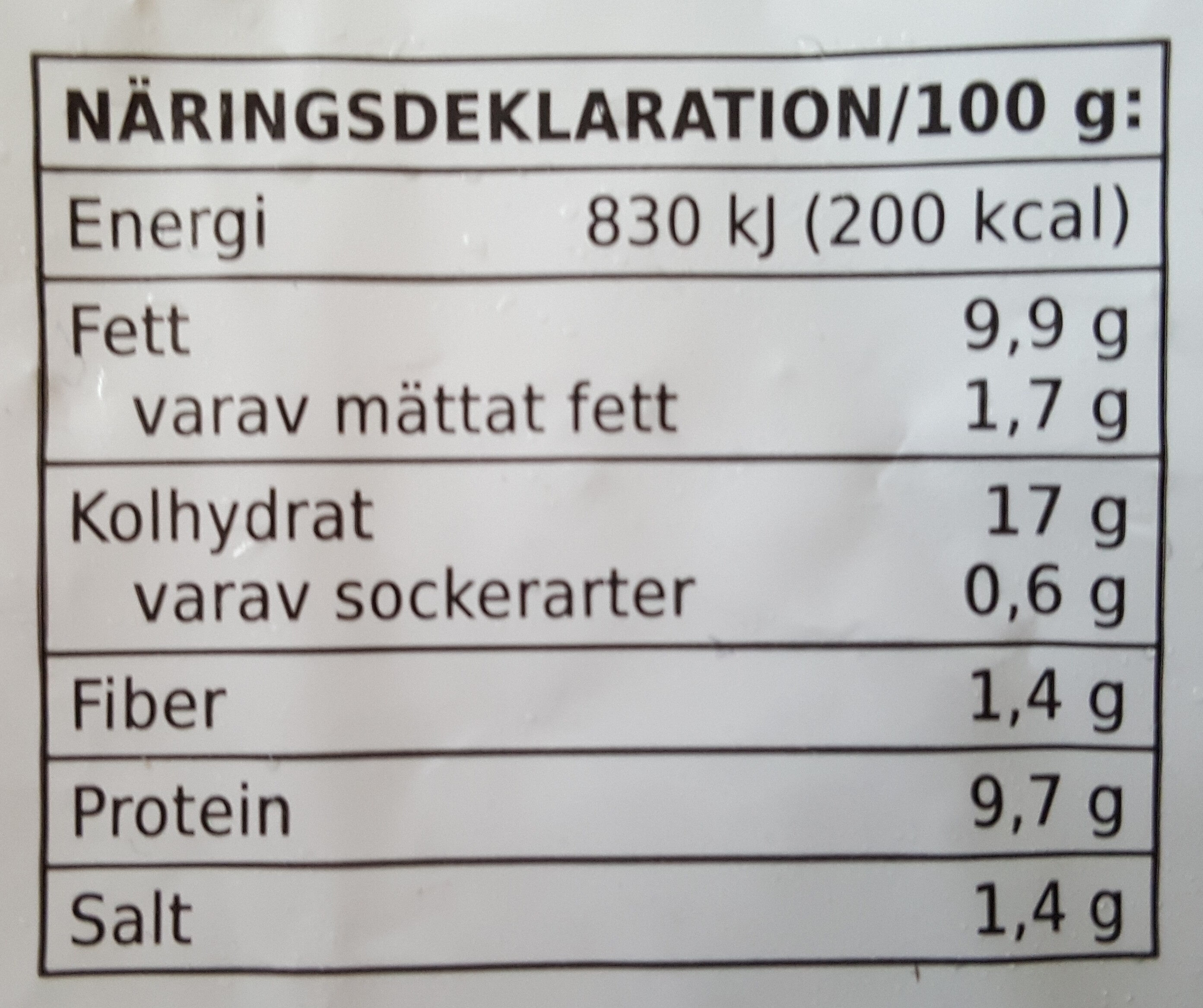 Coop X-tra Chicken Nuggets - Informations nutritionnelles - sv