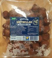 Kyckling Köttbullar - Färdigstekta - Produit - sv