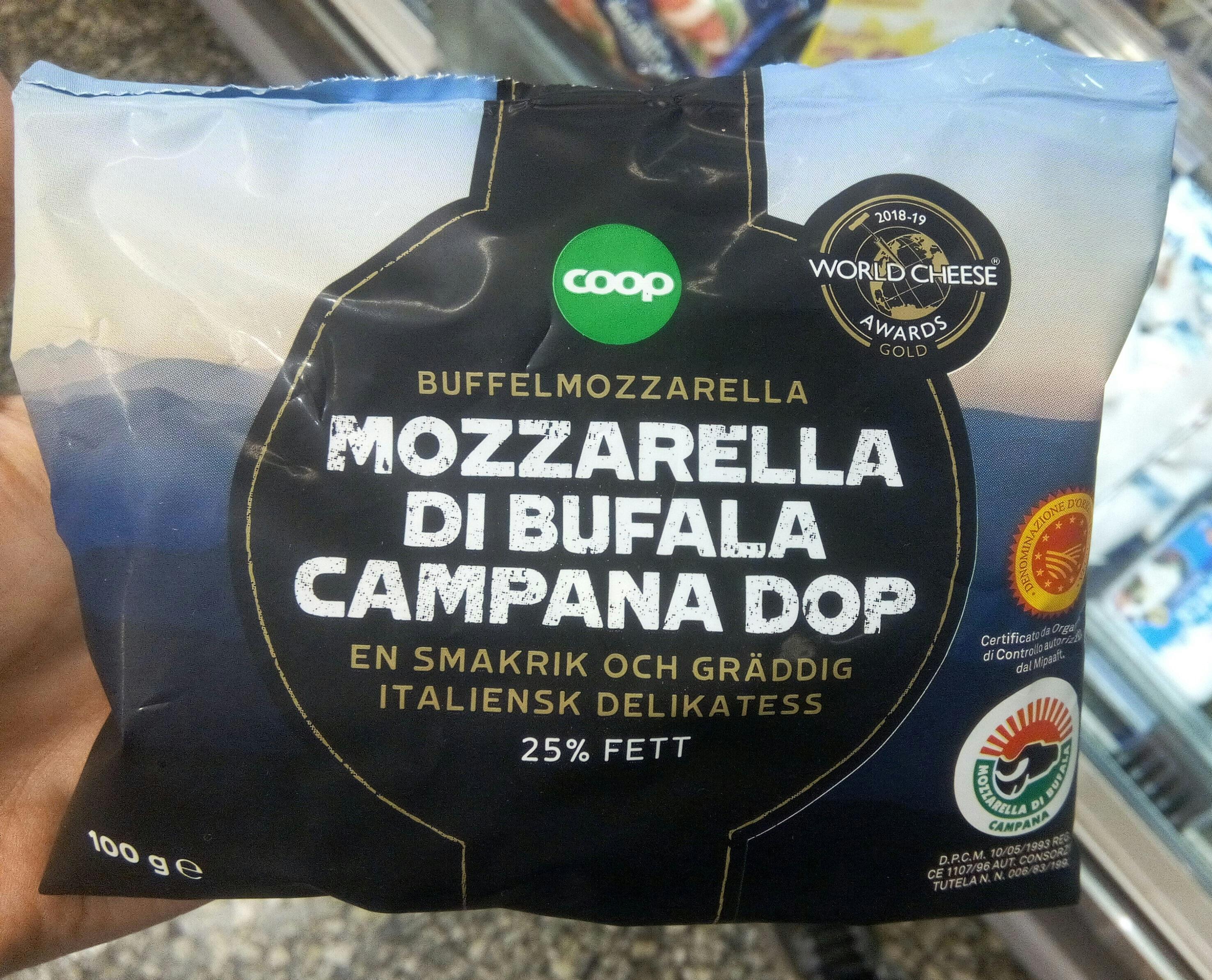 Mozzarella di Bufala Campana - Product