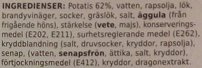 Coop X-tra Potatissallad - Ingrédients - sv