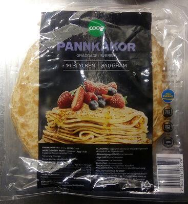 Coop Pannkakor - Produit - sv