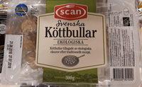 Svenska köttbullar ekologiska - Produit