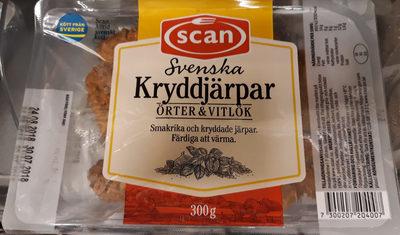 Svenska kryddjärpar örter och vitlök - Produit