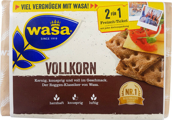Vollkorn Knäckebrot - Produit - de