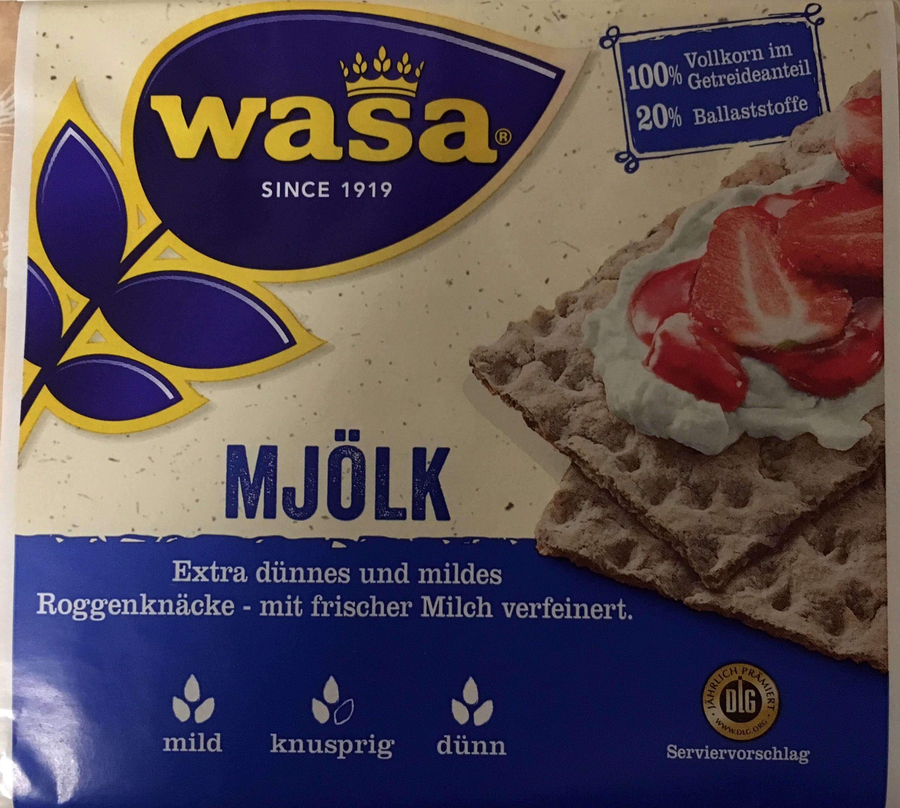 Mjölk - Product - de