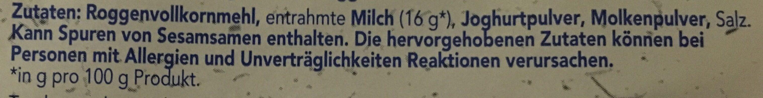 Mjölk - Ingrediënten - de