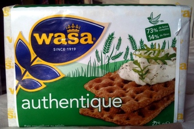 Wasa authentique - Product