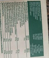 Pan Wasa - Valori nutrizionali - es