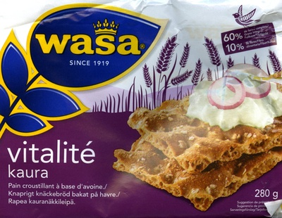 Wasa Vitalité Kaura - Producto