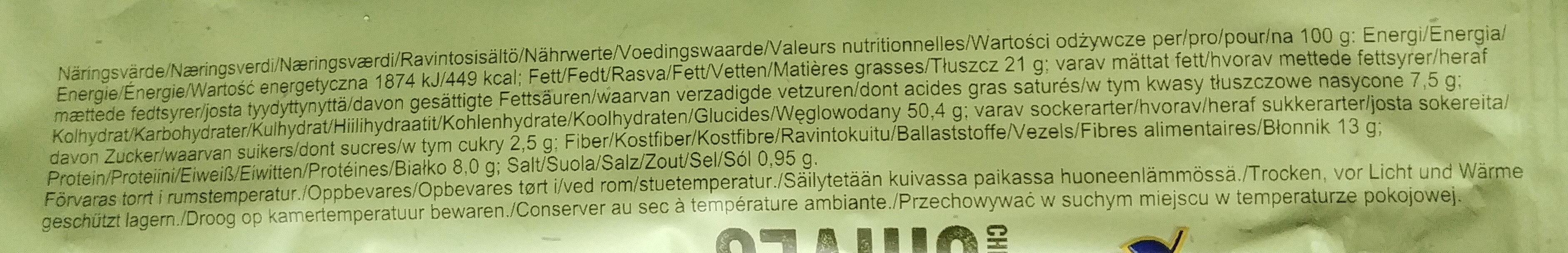 Sandwich Cheese & Chives - Wartości odżywcze - pl