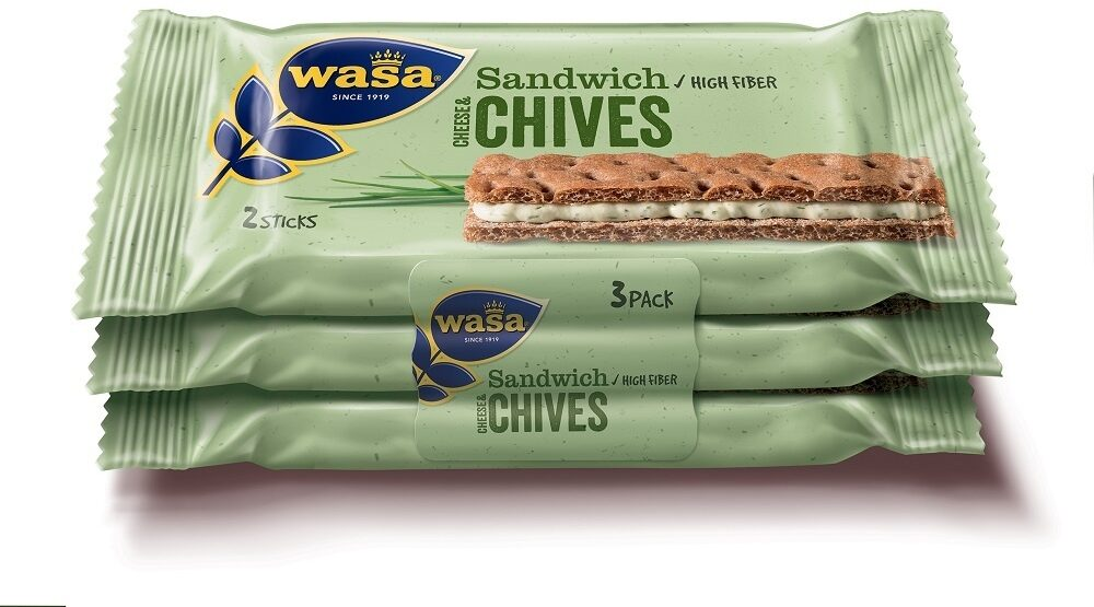 Pain croustillant sandw Cheese&Chiv - Prodotto - fr