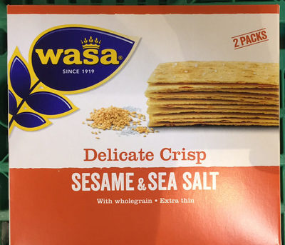 Sesame & Sea Salt - Produit - fr